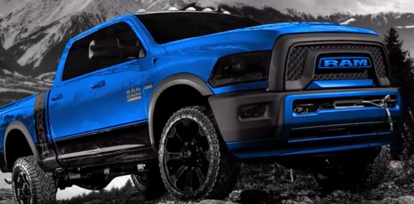 2018 dodge ram power wagon hellcat spied news definitely the best pickup truck ever to be. Black Bedroom Furniture Sets. Home Design Ideas