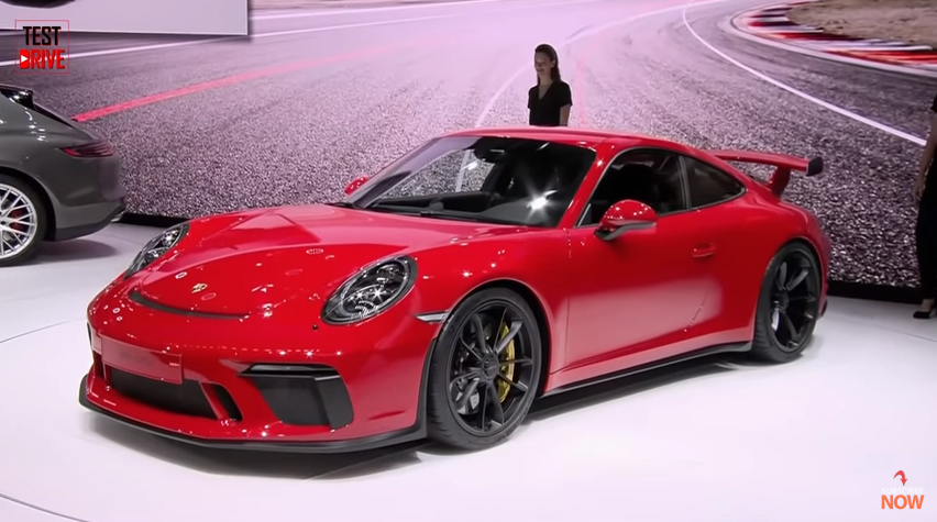 2018 porsche 911 gt3 revealed the new beast boasts of 3 2 second acceleration rate 500hp 339. Black Bedroom Furniture Sets. Home Design Ideas