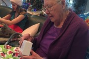Grandma Opens Chocolate iPhone