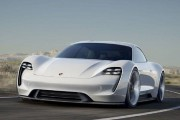 Porsche Mission E Prototype Unveiled at Frankfurt Auto Show