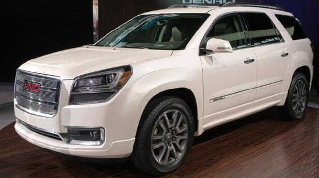 2013 GMC Acadia Denali Reveal at 2012 Chicago Auto Show