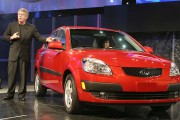 Kia Rio in Detroit Auto Show Showcases Latest Car Models