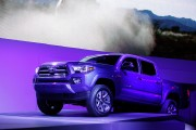 Toyota Tacoma At The Annual North American International Auto Show