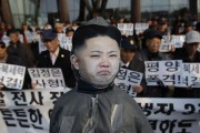 South Koreans Hold Anti-North Rally