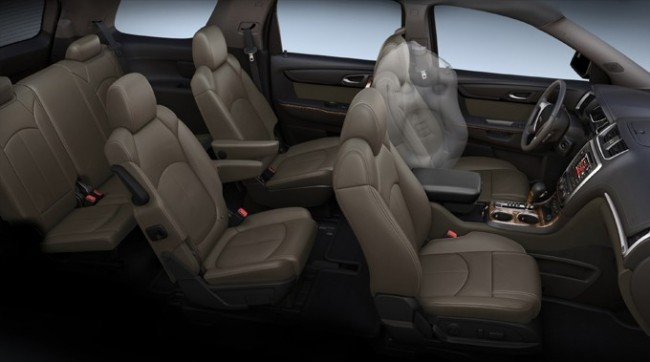 2013 GMC Acadia Airbags