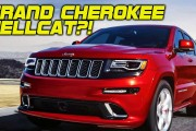 Jeep Grand Cherokee Hellcat at NY Auto Show