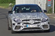 2017 Mercedes-AMG E63 testing on the Nürburgring