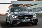 2017 Mercedes-AMG E63 S 4MATIC on Racetrack