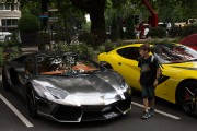 Supercars Arrive In Knightsbridge For The Summer