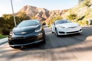 2016 Tesla Model S vs 2017 Chevrolet Bolt EV