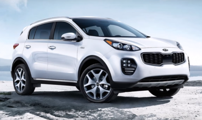 2017 Kia Sportage Named As 2017 Best New Compact SUV By Cars.com
