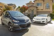 Chevrolet Bolt EV vs Tesla Model S 60