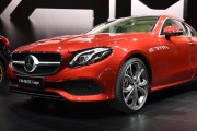 2018 Mercedes-Benz E-Class Coupe First Look: 2017 Detroit Auto Show