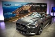 Ford Reveals New 2015 Mustang