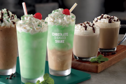 Well Engineered Drinking Straw For McDonald's Shamrock Shake