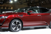 The all-electric Honda Clarity