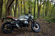 2017 BMW R nineT Scrambler: Powerful BMW Heritage Superbike