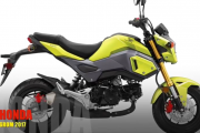 2017 Honda Grom Scrambler: Sportier Minibike, Provides Real Off-Roading Riding Performance