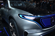 The 2017 Mercedes-Benz EQ Concept