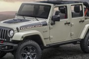 2017 Jeep Wrangler Rubicon Recon Edition Has New Off-Road Hardware Which Takes Its Go-Anywhere Capability to Another Level