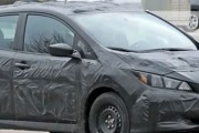 2018 Nissan Leaf (spy photo)