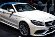 Mercedes-AMG C63 S Cabriolet Ocean Blue Edition at Geneva Motor Show 2017