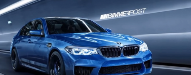 2018 BMW M5 All Wheel Drive; More Power; Aggressive Look