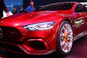 Mercedes-AMG GT Concept First Look - 2017 Geneva Motor Show