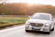 The 2018 Mercedes-Benz S-class Prototype