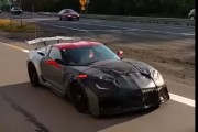 2018 Chevrolet Corvette ZR1 Prototype Spied!