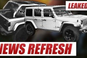 LEAKED: 2018 Jeep Wrangler JL!