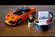 New LEGO Speed Champions 2017 McLaren 720S Sport Car Review Toy
