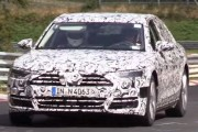2018 Audi A8 (D5) Testing on the Nurburgring!