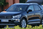 2018 Volkswagen T-Roc Subcompact Crossover (Production Body)