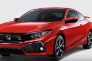 2017 Honda Civic Si Coupe & Sedan