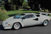 Ride in a Lamborghini Countach 1987 V12 Supercar? Why Not! on My Car Story with Lou Costabile