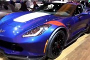 2017 Chevrolet Corvette Grand Sport Blue Edition Special Walkaround