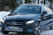 2018 Mercedes-Benz C-Class Coupe Facelift Spy Shots