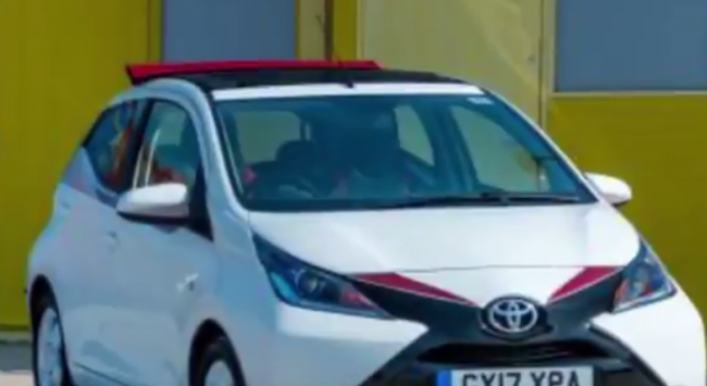 2017 Toyota Aygo x-claim limited edition for summer