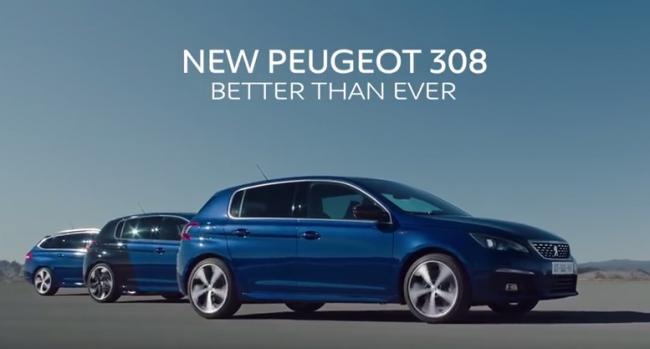 New Peugeot 308   Press film