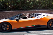 631bhp Lamborghini Huracan Performante spied as Spyder drop top