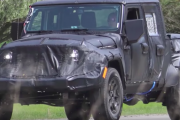 All-New 2019 Jeep Wrangler Pickup Truck Prototype