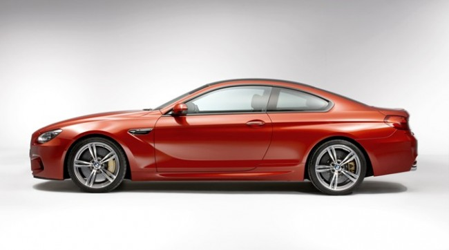 The new BMW M6 Coupe.