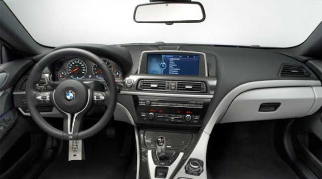 The New BMW - M6 Interior