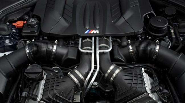 The New BMW M6 - Engine