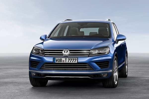 The 2015 Volkswagen Touareg