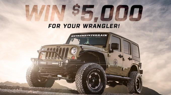 Win $5000 Wrangler